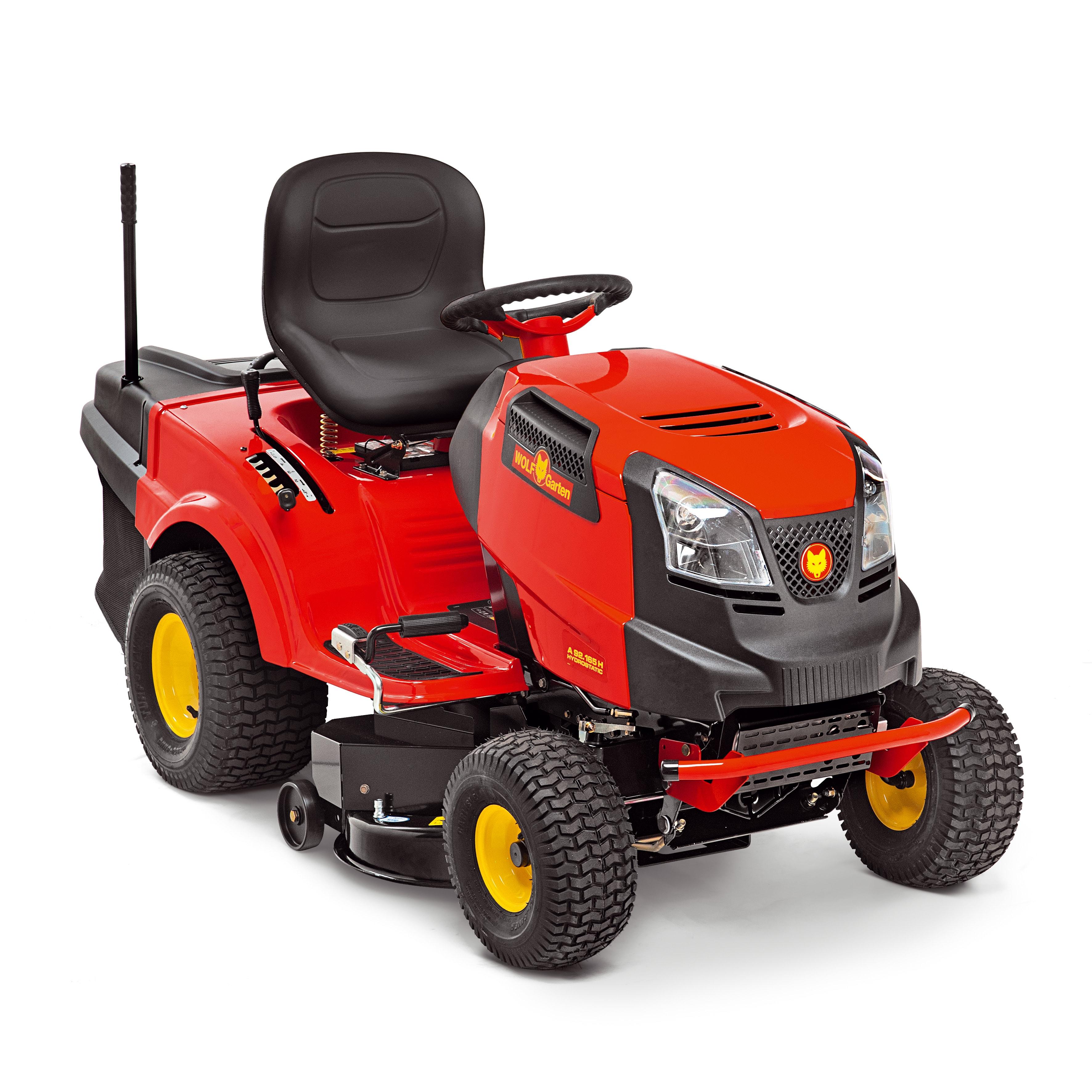 Trávny traktor so zadným vyhadzovaním 92.165 H