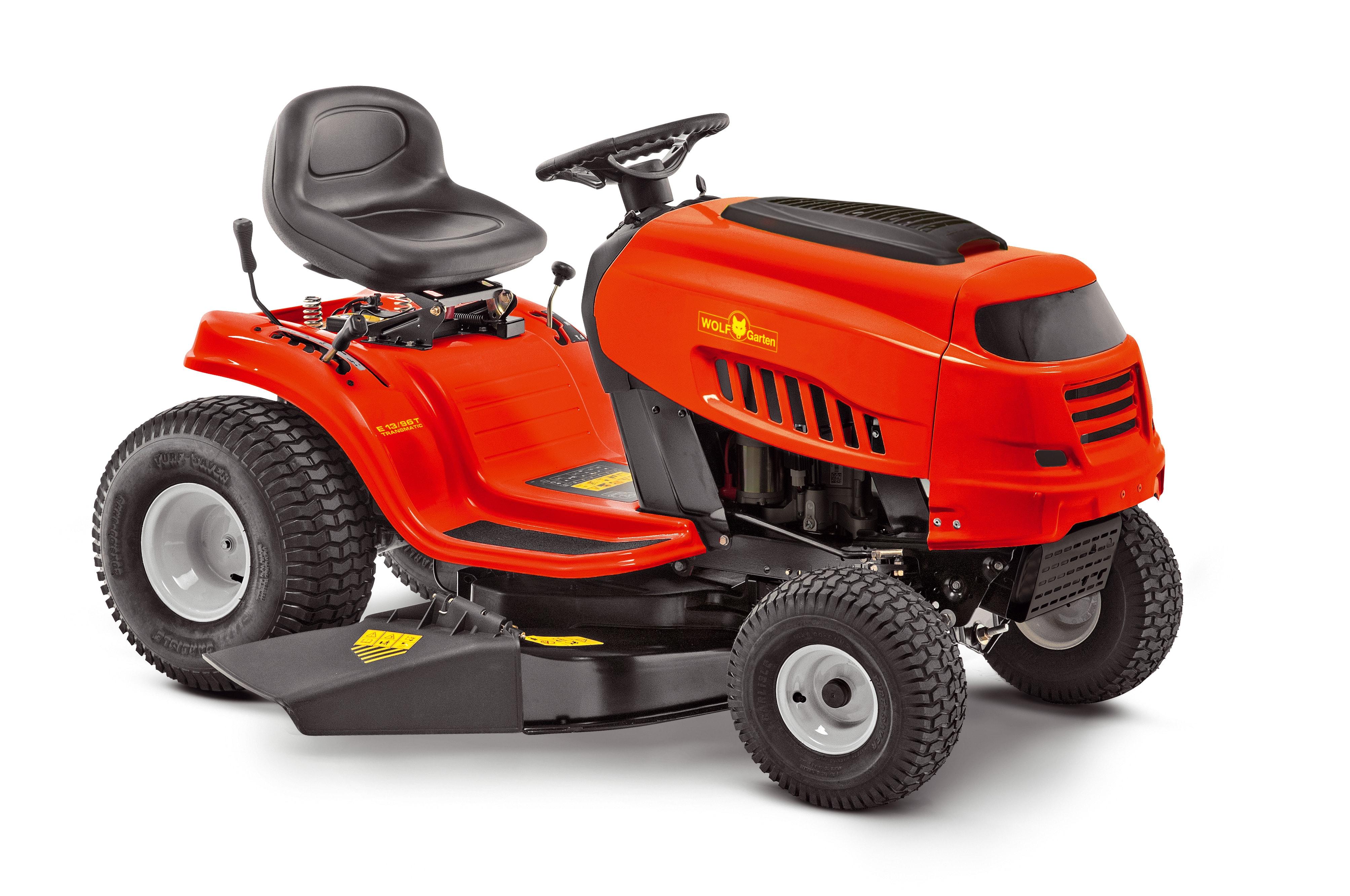 Trávny traktor s bočným vyhadzovaním EXPERT E 13/96 T